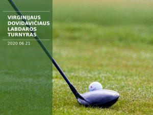 Virginijus Dovidavičius charity tournament