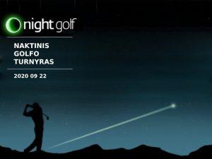 Naktinis golfo turnyras