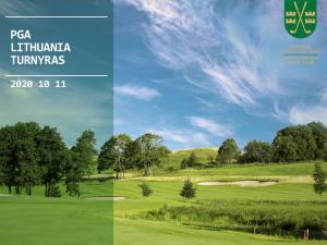 PGA Lithuania tournament