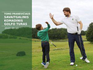 Tomas Pranevičius weekend team golf tour