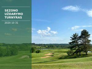 Sostinių golfo klubo sezono uždarymo turnyras