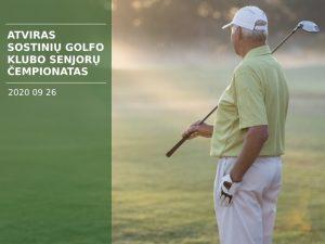 Atviras Sostinių golfo klubo senjorų čempionatas