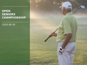 Open Seniors Championship