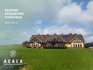 Sostinių golfo klubo sezono atidarymo turnyras