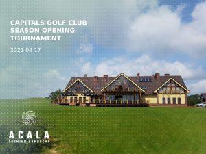 Capitals Golf Club season opening tournament