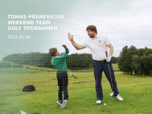 Tomas Pranevicius weekend team golf tournament