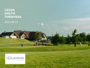 Lexus golfo turnyras