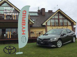 Toyota golfo turnyras