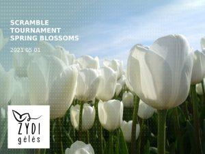 "Scramble tournament ""Spring blossoms"""