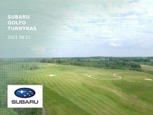 Subaru golfo turnyras